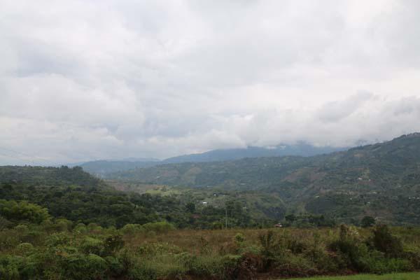 Uitzicht San Agustin Colombia