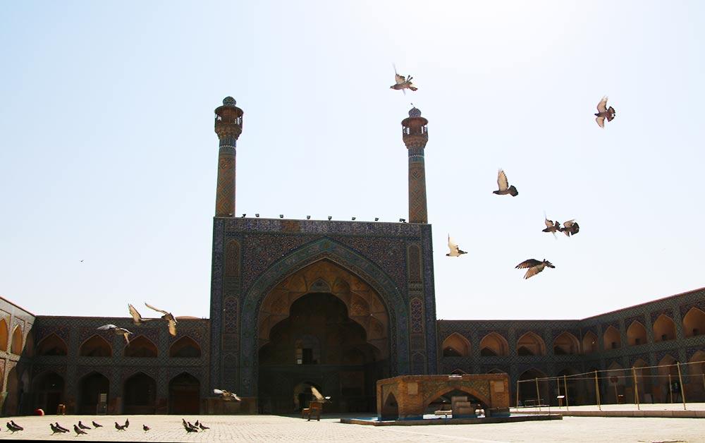isfahan-jame-moskee-vogels