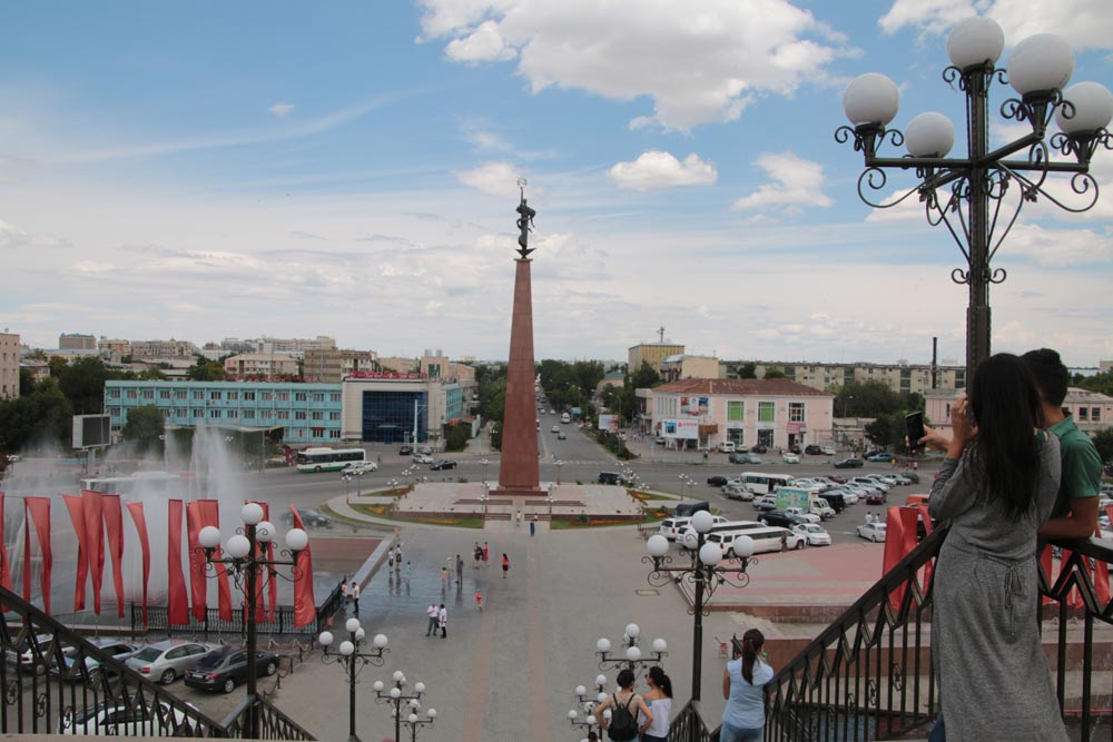 Shymkent - independence