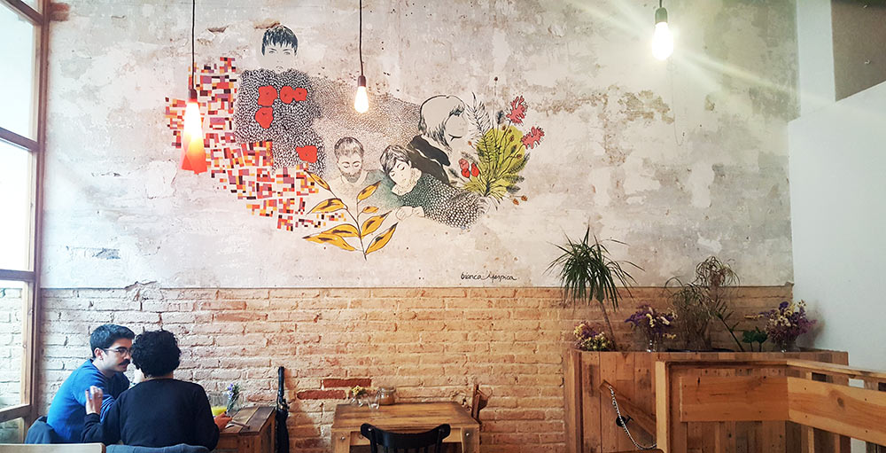 vegan restaurants barcelona the juice house